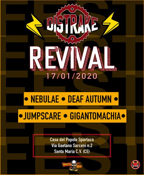 NEW GIG AT DISTRAKE REVIVAL FEST !