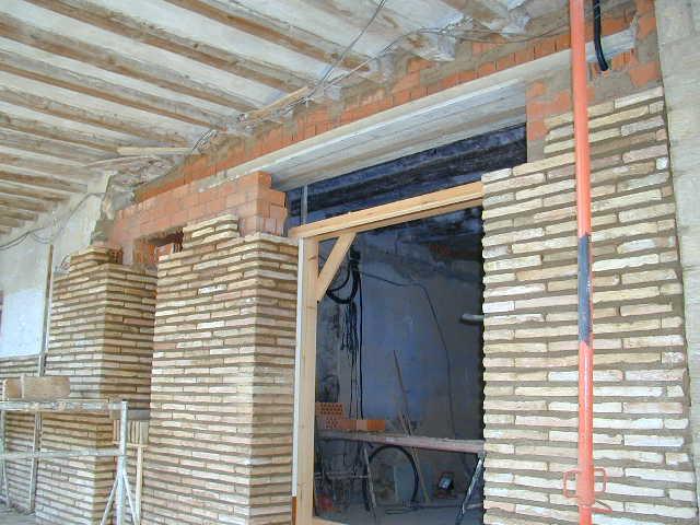 Consolidacion de fachadas
