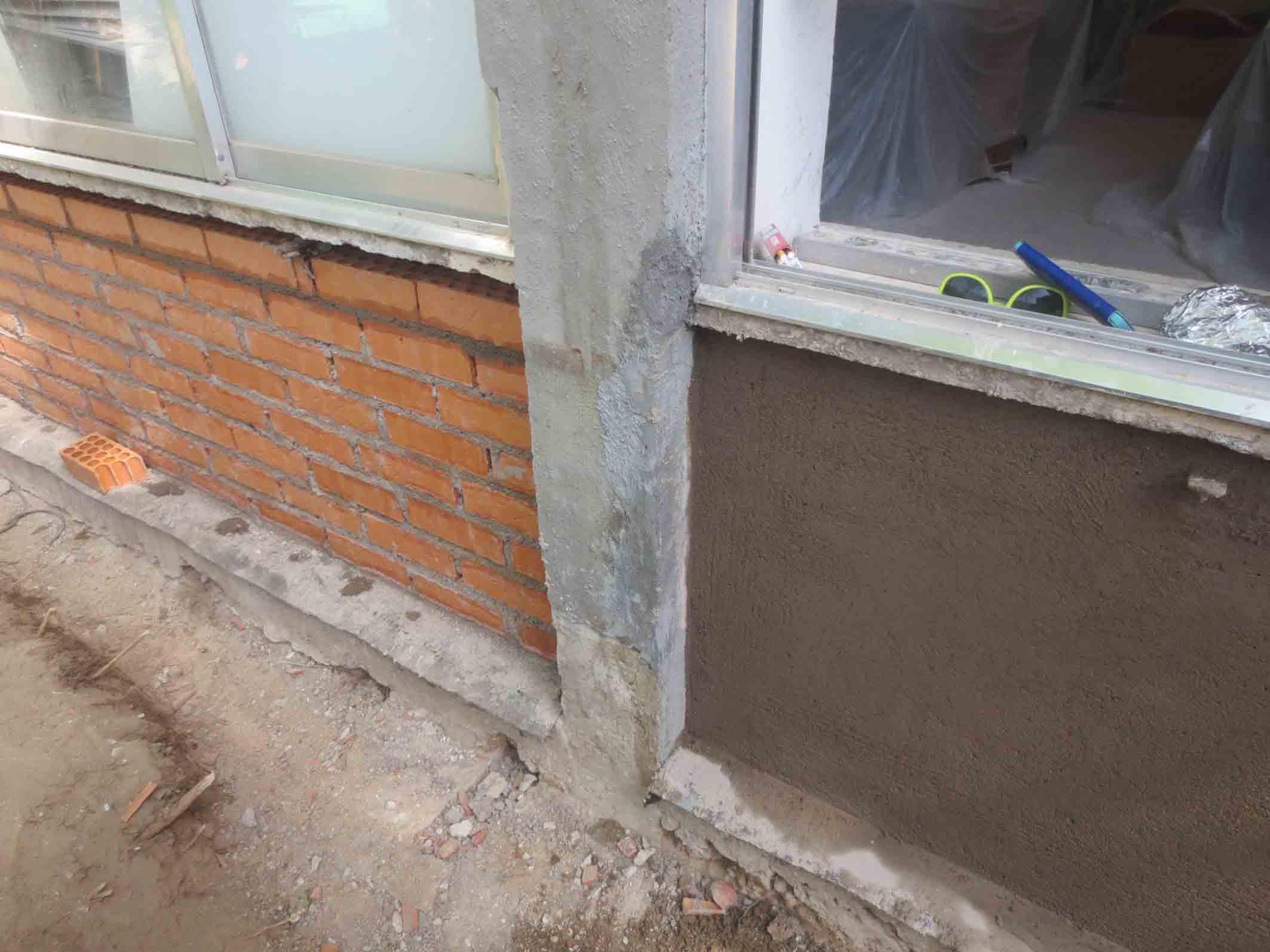 Reparación de estructuras y fachadas