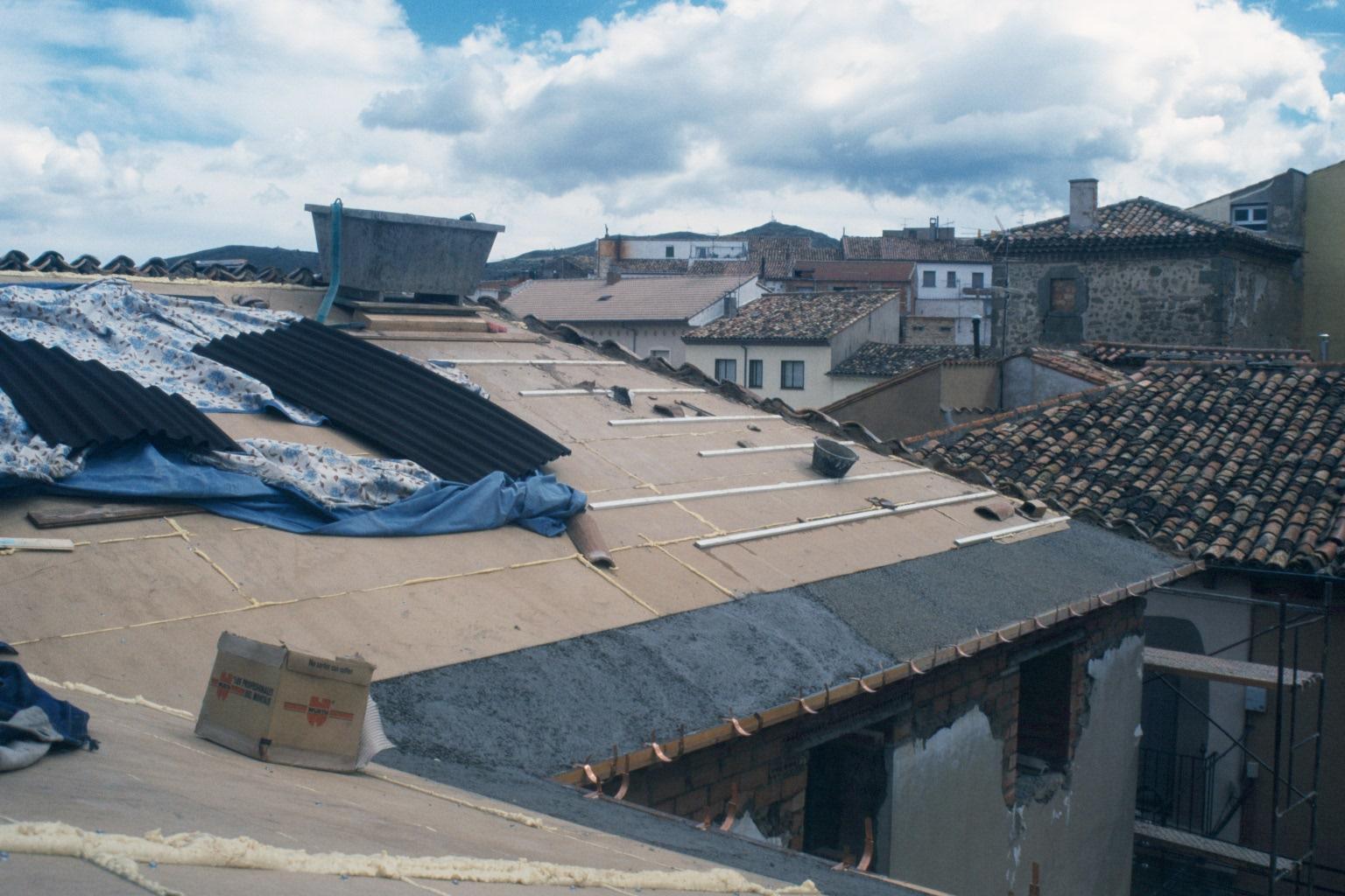 Rehabilitacion energetica de cubiertas