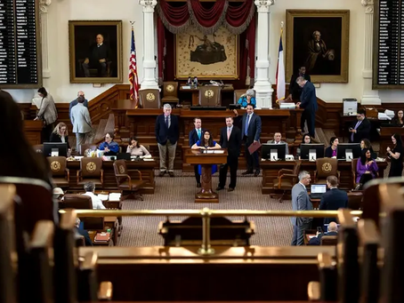 The Texas Legislature convenes for its 2021 session.