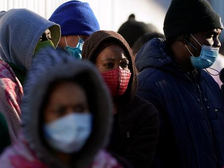 First 25 asylum seekers expected to enter El Paso on Friday afternoon.