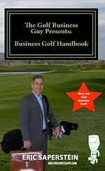 Eric Saperstein: Business Golf Instruction and Networking Logo