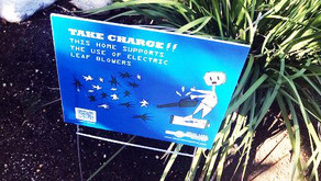 """""""Take Charge"""" Signs Popping Up in Silver Lake"""