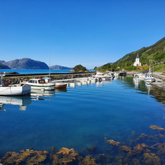 Båthamna på Sørbøvåg