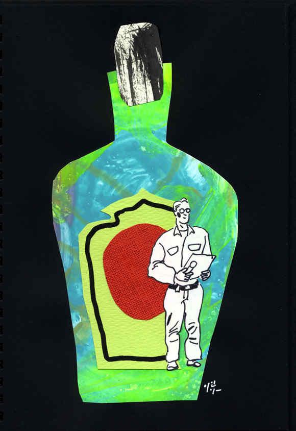 the bottle for man
