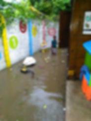Il Foyer inondato