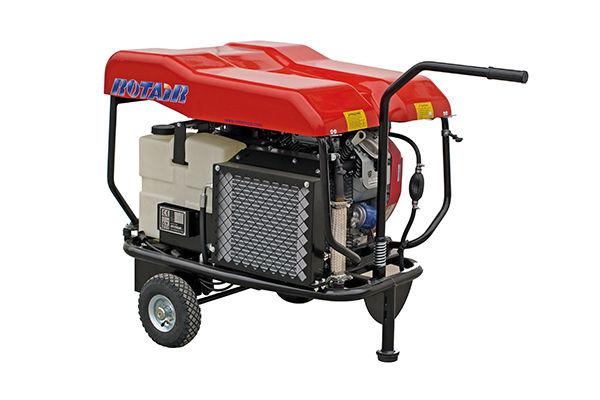 compresseur a vis Rotair VRK 200, compresseur a vis 2m3, compresseur a vis pour chantier, compresseur a vis pour marteau piqueur