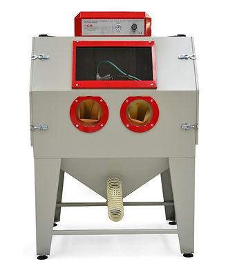 Cabine de microbillage