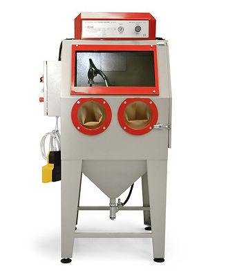 Cabine de microbilage CB-Pal1, cabine de sablage professionnelle, cabine de sabalge en pression ou en dépression, sablage jantes