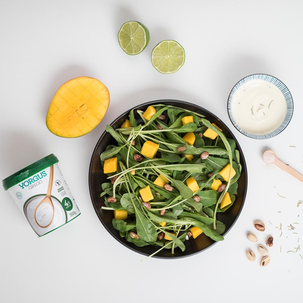 Copy of Salada com molho de mostarda