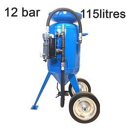 sableuse industrielle 115 Litres, vente et location