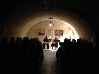 Concert au Chateau de Saint Bernard.JPG
