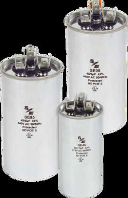 capacitores redondos dual
