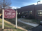 Library Sign and Building