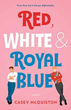 Red, White, & Royal Blue cover