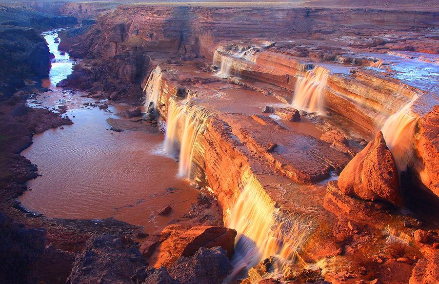 grand falls little colorado river chocolate