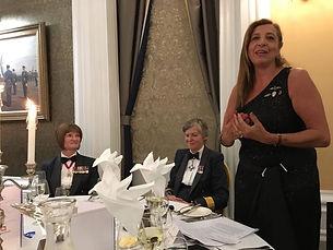 RAF Club talk dinner AIr Commodor Barbar