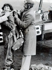 First Woman to Parachute in S. Africa