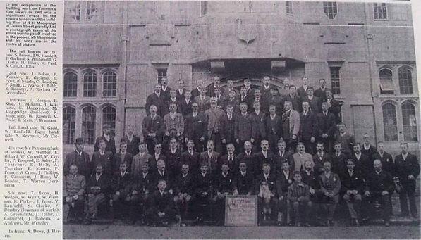 T H Moggridges Builders of The Taunton L