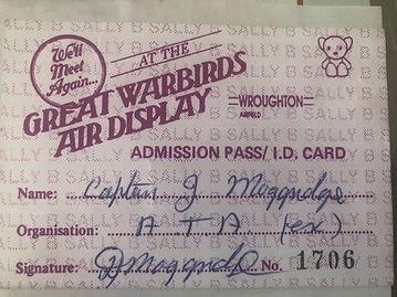 Great War Birds display pass.jpg