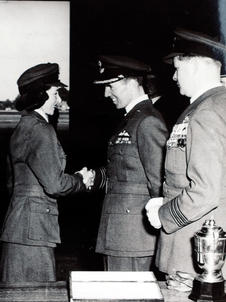 Awarded Full RAF Wings 1953