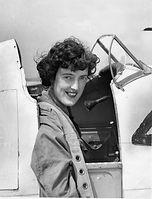 Freydis Leaf in cockpit.JPG
