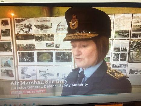 Secret Spitfire poem read by Air Marshal