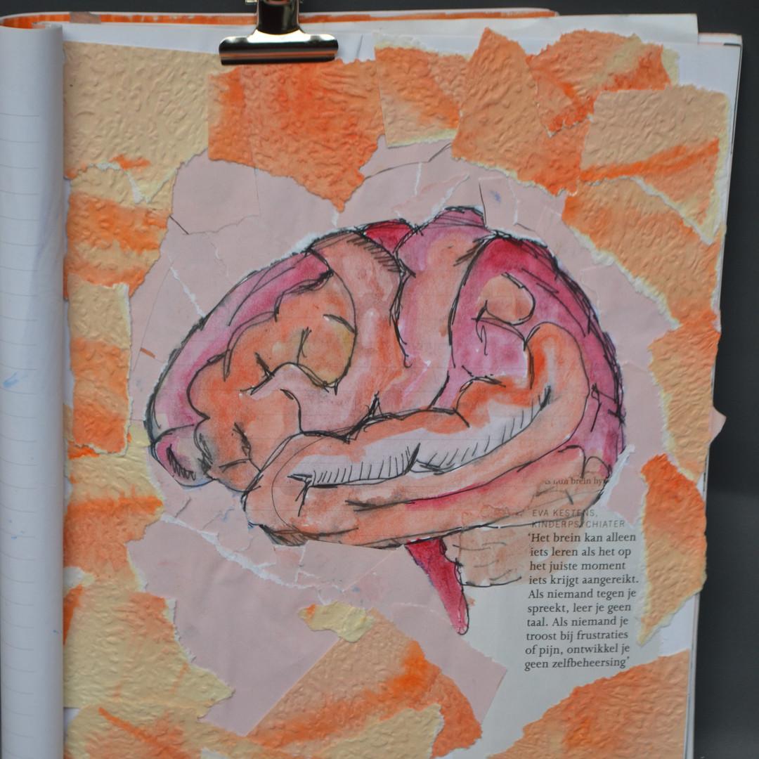 SKETCHBOOK 2019tot2020 brain, collage pa