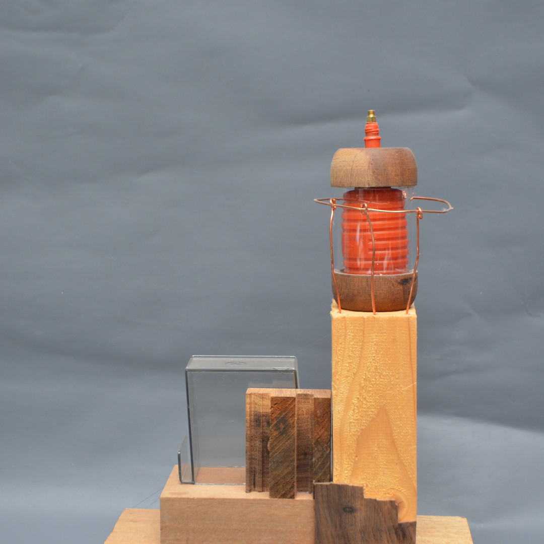 SCULPTURE lighthouse assemblage 1, 2020;