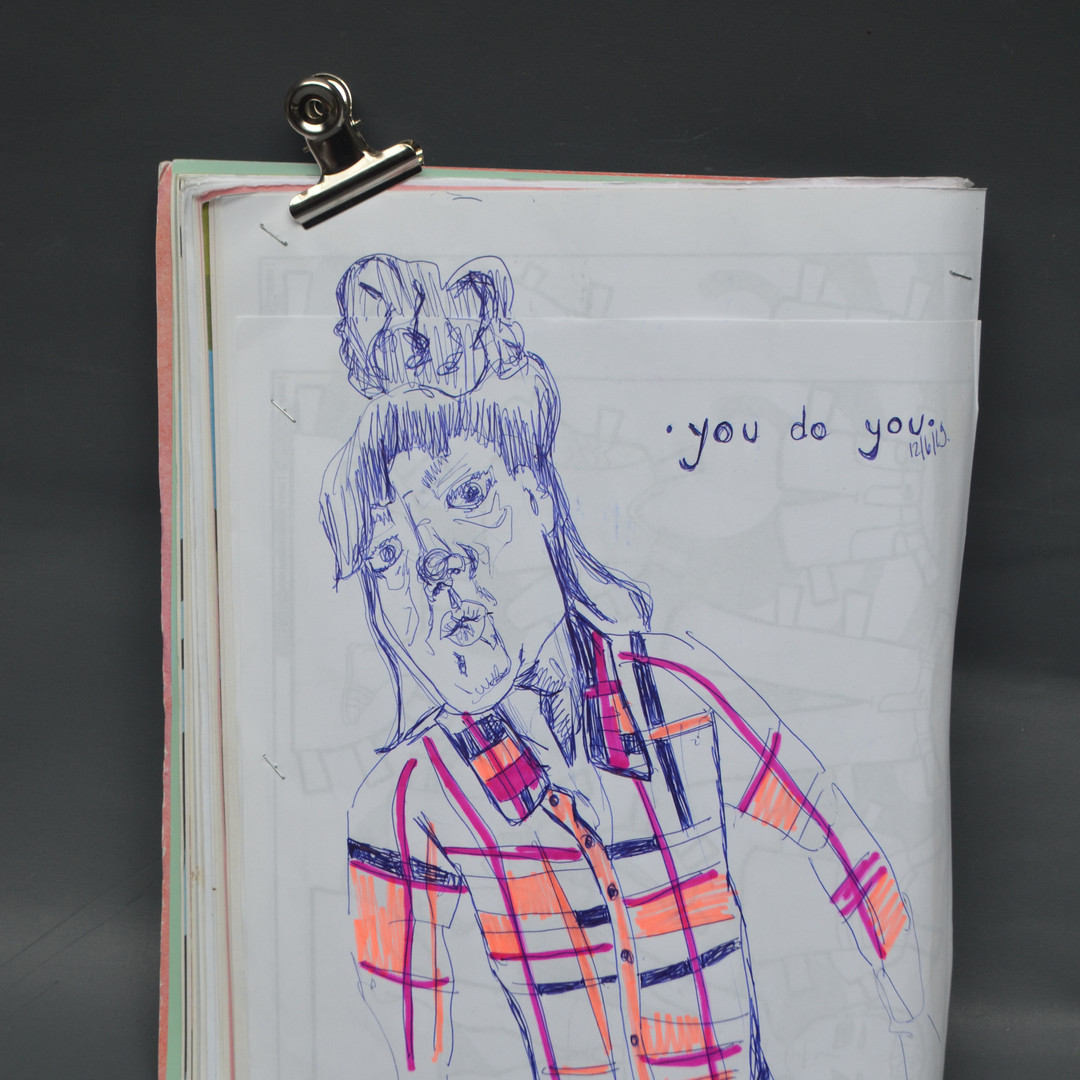 SKETCHBOOK 2019tot2020, you do you, pen