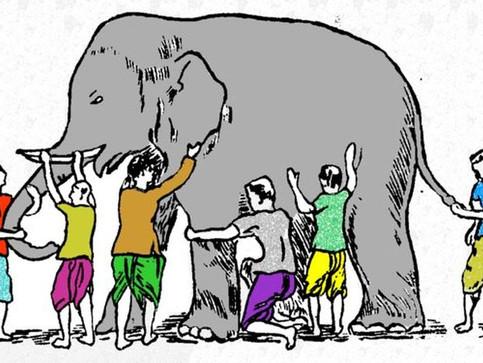 Orang Buta Dan Gajah