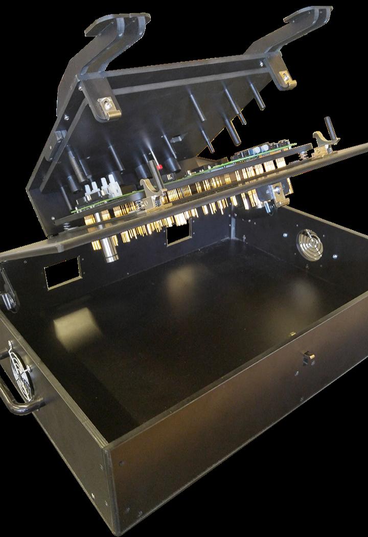 PCB test fixture