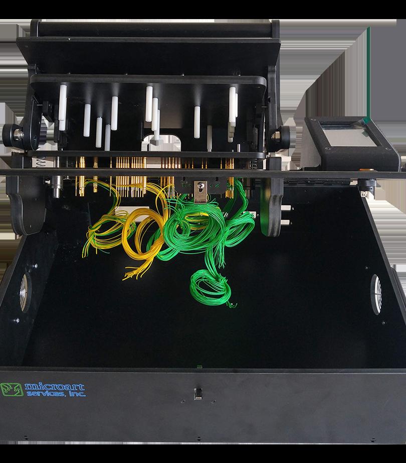 Microart custom test fixture