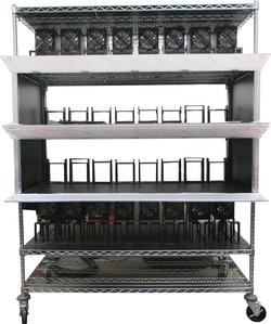 Burn-in rack