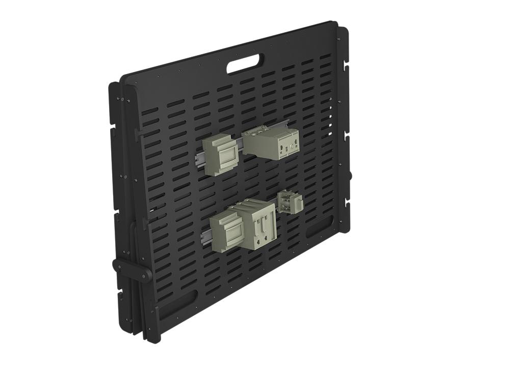 Electronics equipment rack