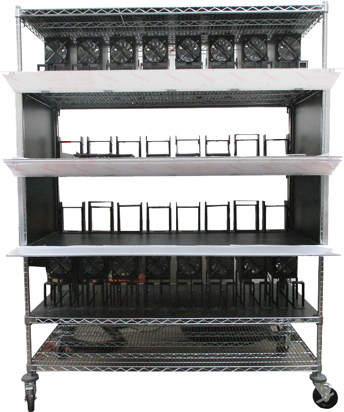 Burn-in rack