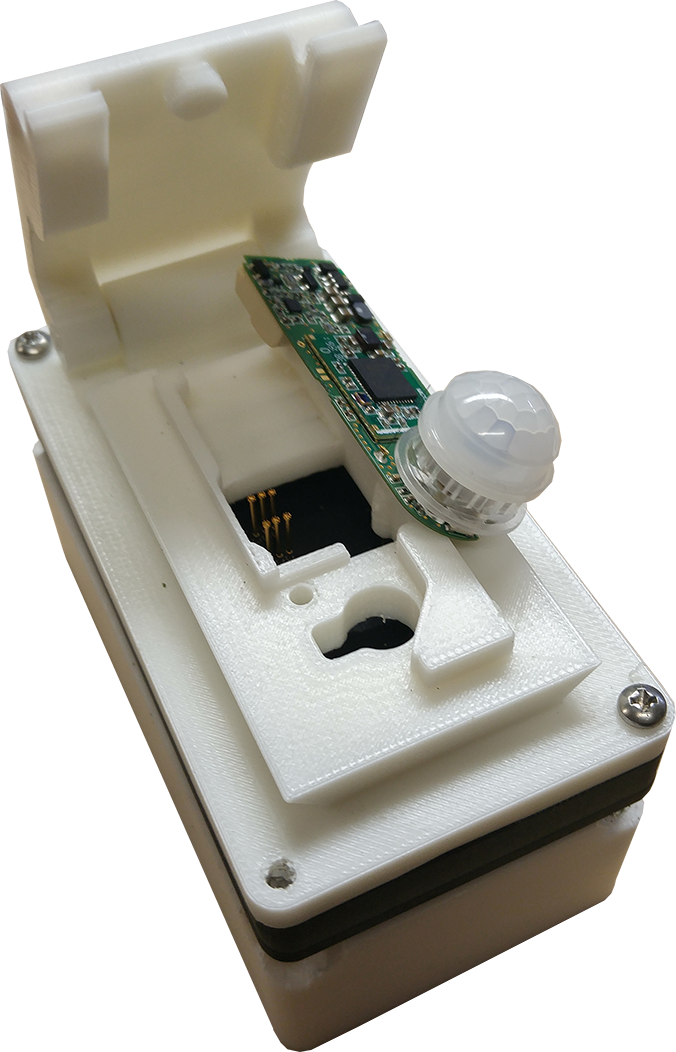 Custom 3D printed programmer