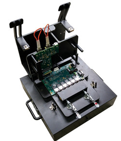 Multi-connection test fixture