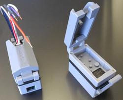 Custom 3D printed programmers