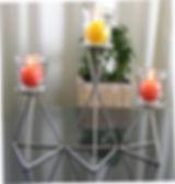 Windlichter 3er Set rostfrei, Wohnen,Terrasse,Balkon,Garten,tscharly design, 8604 Volketswil, Handwerks-Kunst aus Metall
