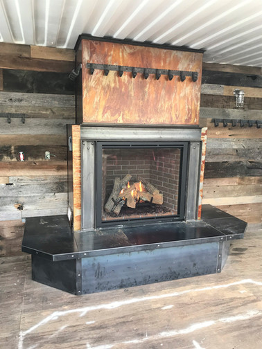 Gas Fireplace - Chair 14 / Outpost