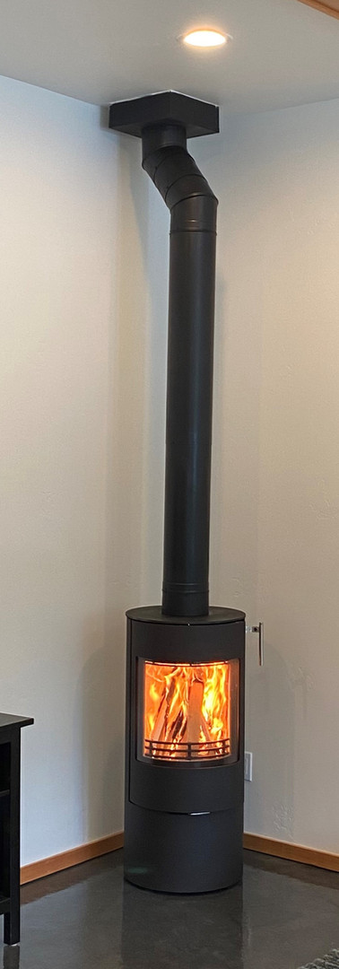 Free-Standing Wood Stove