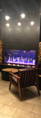 Gas Fireplace - Mammoth Starbucks