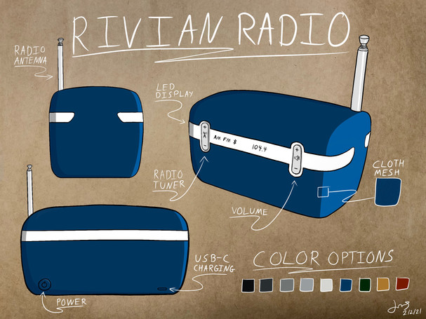 Rivian Radio
