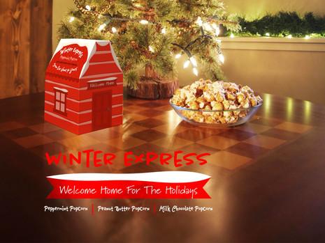 Winter Express Popcorn