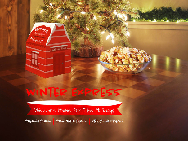 Winter Express Popcorn