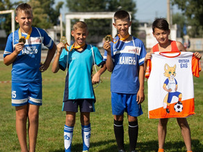 Фестиваль детского дворового футбола 6х6 в Алтайском крае!