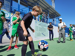 Региональный этап Фестиваля детского дворового футбола 6х6 в Астраханской области