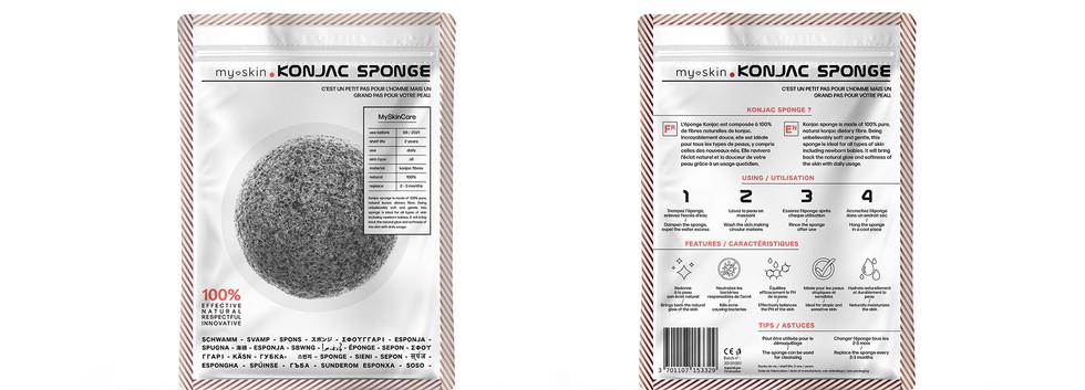 Konjac sponge pack